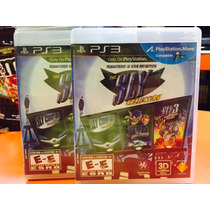 Jogo The Sky Collection Playstation 3, Cooper, Sly 3, Sly 2