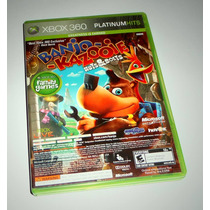 Banjo-kazooie: Nuts & Bolts / Viva Pinata Completo Xbox 360