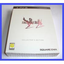 Final Fantasy Xiii 2 Ps3 Collector Edition Colecionador Play