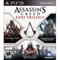 Assassins Creed: Ezio Trilogy (versão Em Português) Ps3
