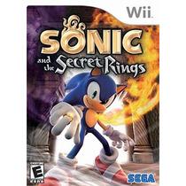 Sonic And The Secret Rings - Wii | Lacrado | Original | Novo