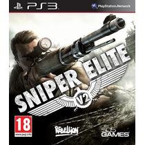 Sniper Elite V2 Ps3 (código Psn) Yagosgamer!