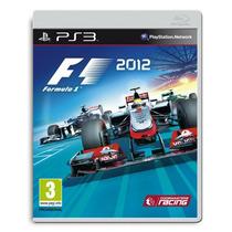 F1 Formula Um 2012 Frete Grátis Jogo Ps3 Sdgames Garantia