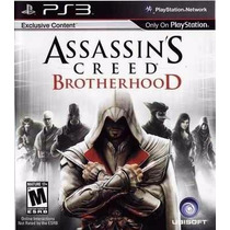 Assassins Creed Brotherhood Mídia Física Ps3