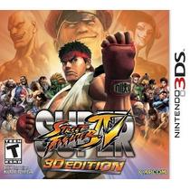 Super Street Fighter Iv: 3d Edition - Eshop 3ds