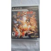 Street Fighter Vs Tekken - Mídia Física - Ps3