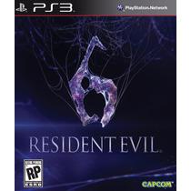 Ps3 - Resident Evil 6 - Míd Fis - Lacrado - Leg Pt Br