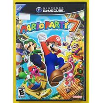 Mario Party 7 Game Cube Jogo Original