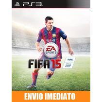 Fifa 15 - Ps3 - Idioma Inglês - Pré Venda - Envio 23/09