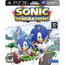 Sonic Generations - Ps3 Psn - Envio Imediato - Riosgames