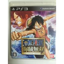 Ps3 One Peace Kaizoku Musou 1 Original Japones Raro Fretgt$