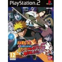 Naruto Shippuden Ultimate Ninja 5 Ps2 Patch - Frete Só 6,00