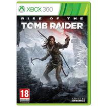 Rise Of The Tomb Raider Xbox 360 Midia Fisica Lacrada Ptbr