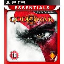 God Of War 3 Essentials Ps3 Jogo Original Novo Lacrado