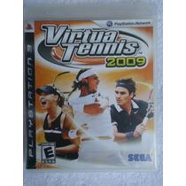 Virtua Tennis 2009 Ps3 Midia Fisica Envio Imediato