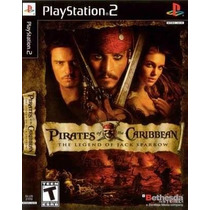 Piratas Do Caribe A Lenda De Jack Ps2 Patch - Frete Só 6,00