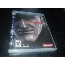 Metal Gear Solid 4 Ps3 Aceito Mercado Pago