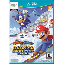 Mario & Sonic At The Winter Olympics Games Sochi 2014- Wii U