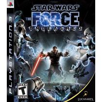 Jogo Star Wars Unleashed - Ps3. Lacrado De Fábrica, Original