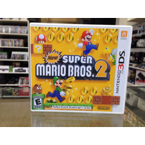 New Super Mario Bros 2 3ds 2ds Completo Original