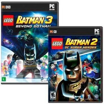 Lego Batman 3 + 2 - Pc Dvd - Midia Fisica Original E Lacrado