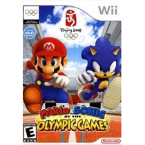 Mario & Sonic At The Olympic Games - Usado Wii