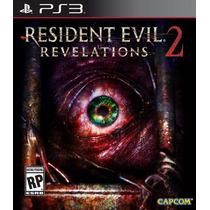 Resident Evil Revelations 2 Ps3 Lacrado Mídia Física