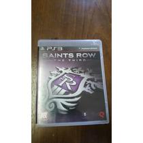 Jogo Saints Row The Third 3 Ps3 - Seminovo - Mídia Física