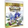 Sonic Generations - Jogo Infantil Playstation 3 Midia Fisica