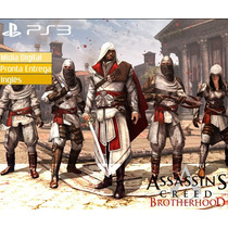 Assassins Creed Brotherhood Ps3 Playstation Psn