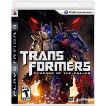Transformers Revenge Of The Fallen - Jogo Ps3