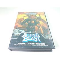 Cartucho Mega Drive\genesis Altered Beast Original No Estojo