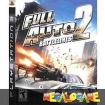 Full Auto 2 Battlelines Ps3 Usado