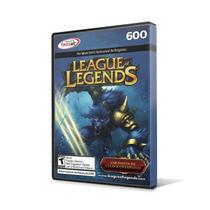 League Of Legends Lol - Cartão 600 Riot Points Rp Br Brasil