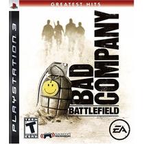 Battlefield Bad Company - Ps3 - Pronta Entrega!