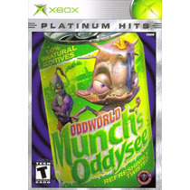 Odd World Munchs Oddysee Platinum Hits Xbox Original A6240
