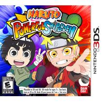 Naruto Powerful Shippuden Nintendo 3ds Lacrado Original