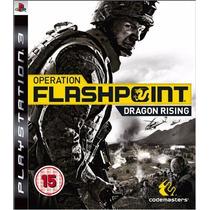 Jogo Ps3 Operation Flashpoint Dragon Rising Original