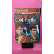 Resident Evil Code Veronica X Americano Ps2 Completo