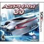 Jogo Do 3ds Game Asphalt 3d Novo Lacrado