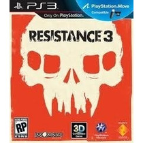 Resistance 3 Ps3 Move