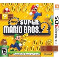 New Super Mario Bros.2 - Nintendo 3ds - Jogo Lacrado - Novo