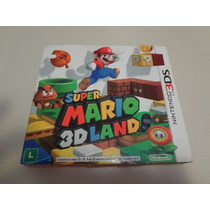 Nintendo 3ds - Super Mario 3d Land Orig Americano Completo