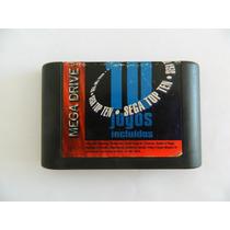 Sega Mega Drive Cartucho 10 Jogos - Funcionando