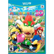 Jogo Mario Party 10 Nintendo Wii U Lacrado Original