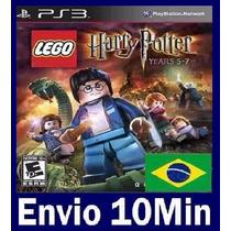 Lego Harry Potter Years 5-7 Ps3 Código Psn
