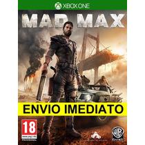 Mad Max - Xbox One Em Português - Xone Envio Imediato