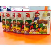 Jogo Super Mario 3d Land Nintendo 3ds Novo, Lacrado