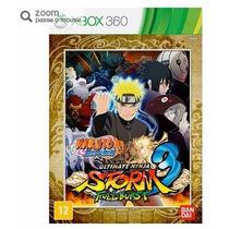 Naruto Shippuden:ultimate Ninja Storm 3 Full Burst-xbox 360