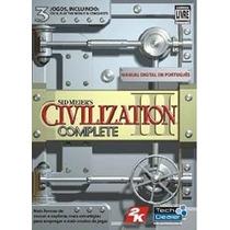 Sid Meiers Civilization 3 Complete Jogo Pc Original Lacrado